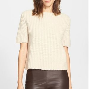 Theory Edaline Fine Haven Wool Cashmere Sweater